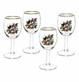 Portmeirion Holly & Ivy Set of 4 Wine Glasses