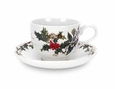 Portmeirion The Holly and The Ivy Tea Cup & Saucer Sets (6)