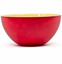Q Squared Montecito Red 12 Red & Yellow Bowl
