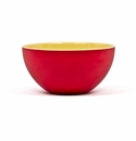 Q Squared Montecito Red 6.5 Red & Yellow Bowl
