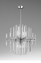 Quebec Six Light Pendant by Cyan Design