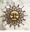 Radiant Sun Wall Plaque by SPI Home