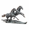 Range Runners Horse Pair Sculpture by SPI Home