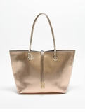 Remi & Reid Departure Tote with Crossbody Champagne / Stone