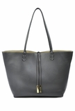 Remi & Reid Departure Tote with Crossbody - Grey/Taupe