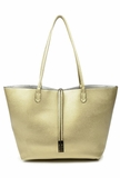 Remi & Reid Departure Tote with Crossbody - Platinum/Silver