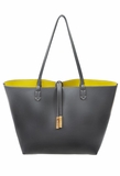 Remi & Reid Departure Tote with Crossbody - Slate/Mustard