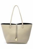 Remi & Reid Departure Tote with Crossbody Stone/Black