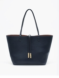 Remi & Reid Departure Tote with Crossbody Midnight Blue / Copper