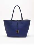 Remi & Reid Departure Tote with Crossbody Royal Blue / Anthracite