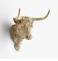 Resin Toro Bull Head Wall Decor by Cyan Design