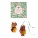 Rosy Rings Apricot Rose Oval Wax Sachet