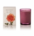 Rosy Rings Botanica Glass Candle Apricot Rose