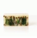 Rosy Rings Forest 3 Wick Brick Botanical Candle