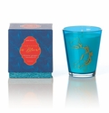 Rosy Rings Glass Candle - Chinese Ginger & Mandarin