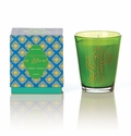 Rosy Rings Glass Candle - Jaipur Cactus