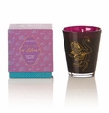 Rosy Rings Glass Candle - Sauvage Figuier