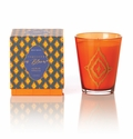 Rosy Rings Glass Candle - Turkish Tobacco