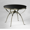 Round San Francisco Table with Granite Top by Cyan Design