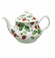 Roy Kirkham Alpine Strawberry Baroque 6 Cup Bone China Teapot