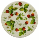 Roy Kirkham Alpine Strawberry Bone China Dessert Plate