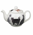 Roy Kirkham Cats Galore 6 Cup Round English Teapot