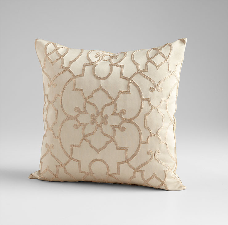 royal celebration gold decorative pillow by cyan design - Gold Decorative Pillows