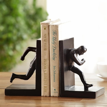 Running Man Bookends by SPI Home