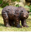 Rust Finish Garden Bear by SPI Home