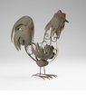 Rustic Iron Rooster Sculpture by Cyan Design