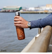Swell Designer Stainless Steel Water Bottles