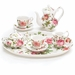 Saddlebrook Rose Porcelain Child's Tea Set