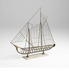 Sail Away Iron Sailboat Sculpture by Cyan Design