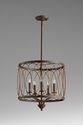Sausalito Iron Pendant Light by Cyan Design