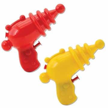 Schylling Retro Ray Gun Water Squirting Toys - Set of 2