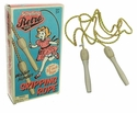 Schylling Retro Skipping Jump Rope with Wooden Handles