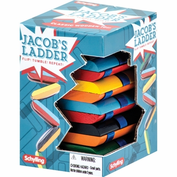 Schylling Wooden Vintage Jacob's Ladder Toy