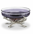 Shell Bowl Holder Glass Included by SPI Home