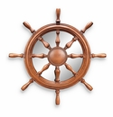 Ships Wheel Wall Mirror by SPI Home