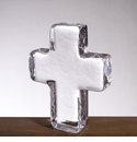 "Simon Pearce Cross 5"" in Gift Box"
