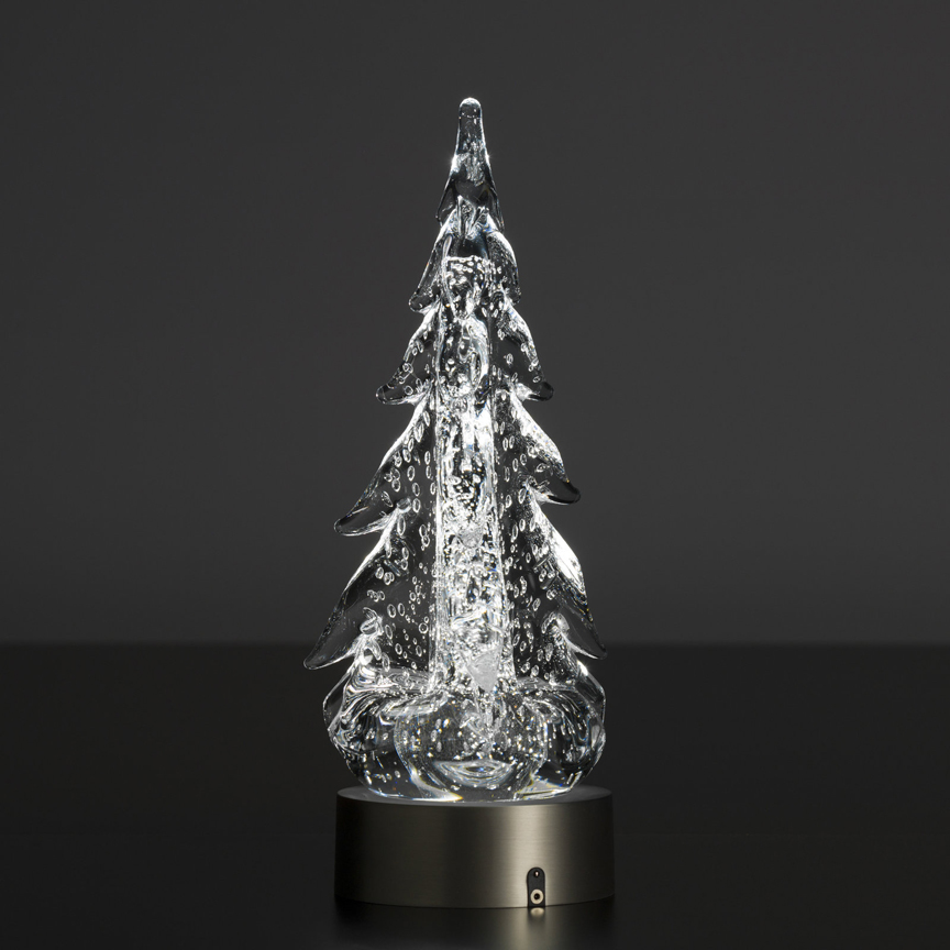 Simon Pearce Led Light Base For Glass Trees