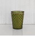 Simpatico Hobnail Glass Candle - Wildflower