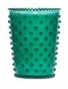 Simpatico Home 16 Ounce Hobnail Glass Candle - Marine (No. 91)
