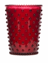 Simpatico Home 16 Ounce Hobnail Glass Candle - Reindeer (No. 29)