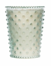 Simpatico Home 16 Ounce Hobnail Glass Candle - Scotch Pine (No. 26)