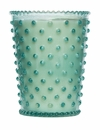 Simpatico Home 16 Ounce Hobnail Glass Candle - Skye (No. 79)
