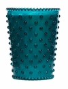 Simpatico Home 16 Ounce Hobnail Glass Candle - Spanish Lime (No. 14)