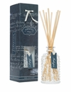 Simpatico Home Hobnail Glass Fragrance Diffuser Set - Ambergris (No. 72)