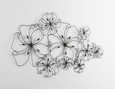 Six Flower Fancy Iron Wall Art by Cyan Design