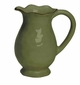 "Skyros Designs Cantaria Pitcher 8"" - Pine Green"